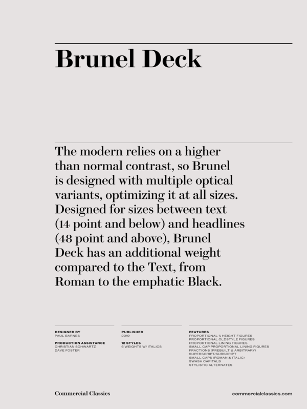 Brunel deck family 1 600 xxx q87